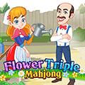Flower Triple Mahjong