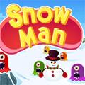 Pacman dans la neige